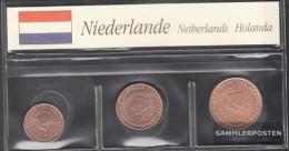 Netherlands NL1 - 3 2003 Stgl./unzirkuliert Stgl./unzirkuliert 2003 Kursmünze 1, 2 And 5 Cent - Netherlands