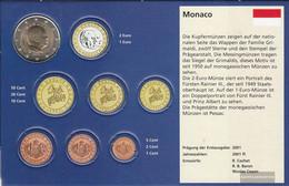 Monaco MON 9 2015 Stgl./unzirkuliert Stgl./unzirkuliert 2015 Kursmünze 2 Euro - Monaco