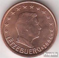Luxemburg LUX 1 2002 Stgl./unzirkuliert Stgl./unzirkuliert 2002 Kursmünze 1 Cent - Lussemburgo