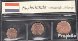 Niederlande NL1 - 3 2003 Stgl./unzirkuliert Stgl./unzirkuliert 2003 Kursmünze 1, 2 Und 5 Cent - Netherlands