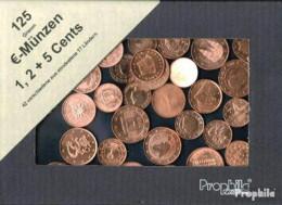 Europa 125 Gramm Münzkiloware  Mit 42 Verschiedene EURO-Cent-Münzen Aus 17 Länder - Kilowaar - Munten