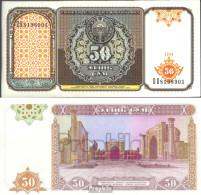 Usbekistan Pick-Nr: 78a Bankfrisch 1994 50 Sum - Usbekistan