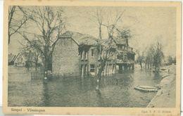 Vlissingen; Singel (Overstroming) - Niet Gelopen. (Altorffer - Middelburg) - Vlissingen