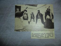 """Origineel Knipsel ( 1419 )  Uit Tijdschrift """" Ons Volk """" :  Ath 1937 - Vieux Papiers"""