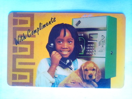 Girl With Puppy - South Africa