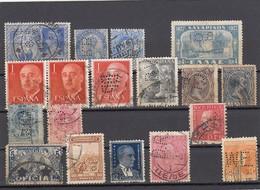 11551-LOTTICINO DI N°.18 FRANCOBOLLI PERFIN-USATI-INDIA INGLESE-GRECIA-SPAGNA-SVEZIA-LUSSEMBURGO-URUGUAY-TURCHIA-JUGOSL. - Alla Rinfusa (max 999 Francobolli)