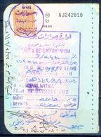 R3- Kingdom Of Saudi Arabia Fiscal Revenue 20 Riyals Stamp On Passport Page Of Pakistan. - Saudi Arabia