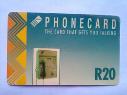 Card That Gets You Talking 20 Rand - Afrique Du Sud