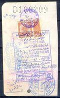 R6- Kingdom Of Saudi Arabia Fiscal Revenue 20 & 80 Riyals Stamp On Passport Page Of Pakistan. - Saudi Arabia