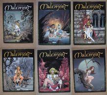 STALNER & CHAGNAUD - ROMAN DE MALEMORT 6 TOMES - GLENAT (EO 1999/2004) - Roman De Malemort, Le