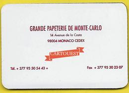 PAPETERIE MONTE CARLO MONACO 14 Av De La Costa REPERTOIRE TELEPHONE Aimanté - Autres