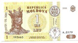 Moldavia - 1 Leu 2006, - Moldavia