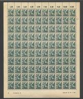 Rheinland-Pfalz,Nr.4,19.4.1947,A,gefaltet (M6) Franz.Zone-Bogen - Französische Zone