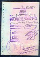 R19-  India Visia Page Of Pakistan Passport. - Pakistan