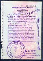 R20-  India Visia Page Of Pakistan Passport. - Pakistan