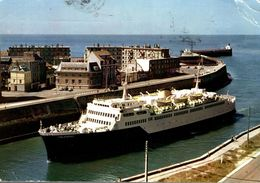 S.N.C.F.F. BRITISH RAILWAYS LIGNE DIEPPE-NEWHAVEN CAR-FERRY VALENCAY - Transbordadores