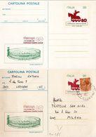 Cartolina Postale C 185 Verona '80 Nuova +usata - 6. 1946-.. Repubblica