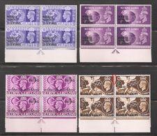 Morocco Agencies 1948,KGVI Olympic Gemes Issue,Blocks Sc 95-98,VF MNH** (Lot-1) - Morocco Agencies / Tangier (...-1958)