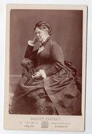 Deutschland Allemagne Portrait En Pied Femme , H. Thomas Coblenz , Königl. Hof Photograph Wiesbaden - Photos