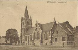 Ettelghem    Parochiale Kerk    1925   Naar   Nieuwmunster - Oudenburg