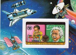Centrafrica 1979, Year Of The Child, Einstein , UNICEF, Space, BF - Space