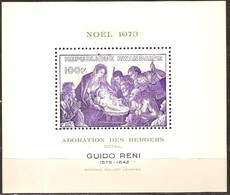 Rwanda 1973 Yvertn°  Bloc 31  *** MNH Cote 4,50 Euro Noël Christmas - Rwanda