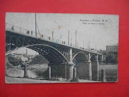 VITEBSK 1916 General View And Bridge. TPO Postmark 'VITEBSK Railway Station' Russian Postcard. - Belarus