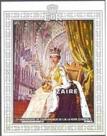 Zaire 1978 Ocbn°  Bloc 28  *** MNH Cote 12,00 Euro Reine Elisabeth - Zaïre