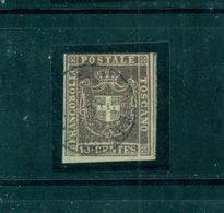 Toskana,Kreuzwappen, Nr. 19  Gestempelt - Toscana