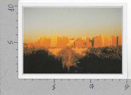 CARTOLINA NV DE AGOSTINI - YEMEN - Shibam - La Manhattan Del Deserto - Vedute Dal Mondo - 10 X 15 - Yemen