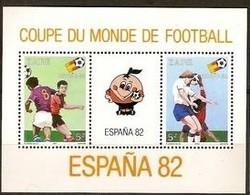Zaire 1981 Ocbn°  Bloc 48  *** MNH Cote 6,00 Euro Sport Football Soccer - Zaïre