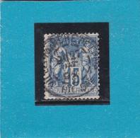 SAGE N°101  CACHET A DATE  VILLEFRANCHE DE L'GAIS  /   Hte- Gne   27 DEC. 1892      - REF 14017 - 1876-1898 Sage (Type II)
