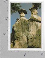 CARTOLINA NV DE AGOSTINI - COREA DEL SUD - Paju - Le Colossali Statue Di Miruk - Vedute Dal Mondo - 10 X 15 - Corea Del Sud