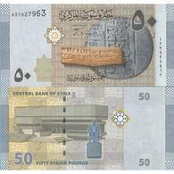 Syria - 50 Pounds 2009 UNC - Syria