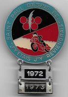 MOTO - Badge Course Motos SAINT PAUL D' ESPIS  1972 - 1973 - Autres
