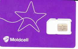 Moldova ,  Moldavie , Moldau ,  SIM , GSM , Moldcell , Used - Moldavie