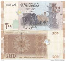 Syria - 200 Pounds 2009 UNC - Syrie