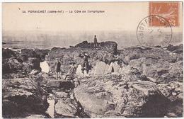 44 - PORNICHET (Loire-Inf.) - La Côte De Congrigoux - 1920 / Animation - Pornichet