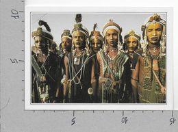 CARTOLINA NV DE AGOSTINI - NIGER - Abala - Feste Bororo - Vedute Dal Mondo - 10 X 15 - Niger
