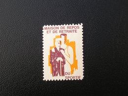 Maison De Repos Et De Retraite Du Sportif  NEUF** - Commemorative Labels