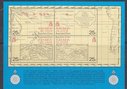 Solomon Islands 1981 Old Maps M/s ** Mnh (37484) - Solomoneilanden (1978-...)