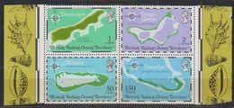 British Indian Ocean Territory 1975 Maps M/s  ** Mnh (42406) - Brits Indische Oceaanterritorium