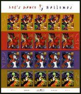 VERINIGTE STAATEN ETAS UNIS USA 2005 LET'S DANCE-BAILEMOS M/S 20V. MNH SC 3939-42SP YV F3699-02 MI B3977-80 SG MS4477-80 - Ganze Bögen