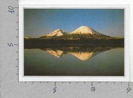 CARTOLINA NV DE AGOSTINI - CILE - Ande - Il Vulcano Parinatoca - Vedute Dal Mondo - 10 X 15 - Cile