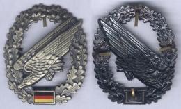 Insigne De Béret Des Troupes Aéroportées - Allemagne - Insigne & Ordelinten