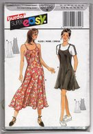 Patron Burda Super Easy N° 3792 - Kleid, Robe/ Dress - Patrons