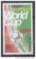 Armenia - Armenie 1998 Yvert 299, France Football World Cup - MNH - Arménie