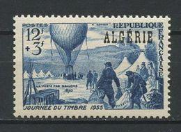 ALGERIE 1955 N° 325 ** Neuf  MNH Superbe Cote 2,88 € Journée Du Timbre Ballon Poste - Nuevos