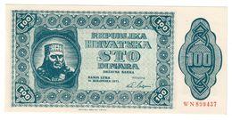 Banja Luka 100 Dinara 1971 UNC Croatia / Bosnia / Yugoslavia - Croatian Spring 1971 - Croatia
