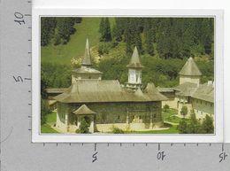 CARTOLINA NV DE AGOSTINI - ROMANIA - Suceava - Il Monastero Di Sucevita - Vedute Dal Mondo - 10 X 15 - Romania